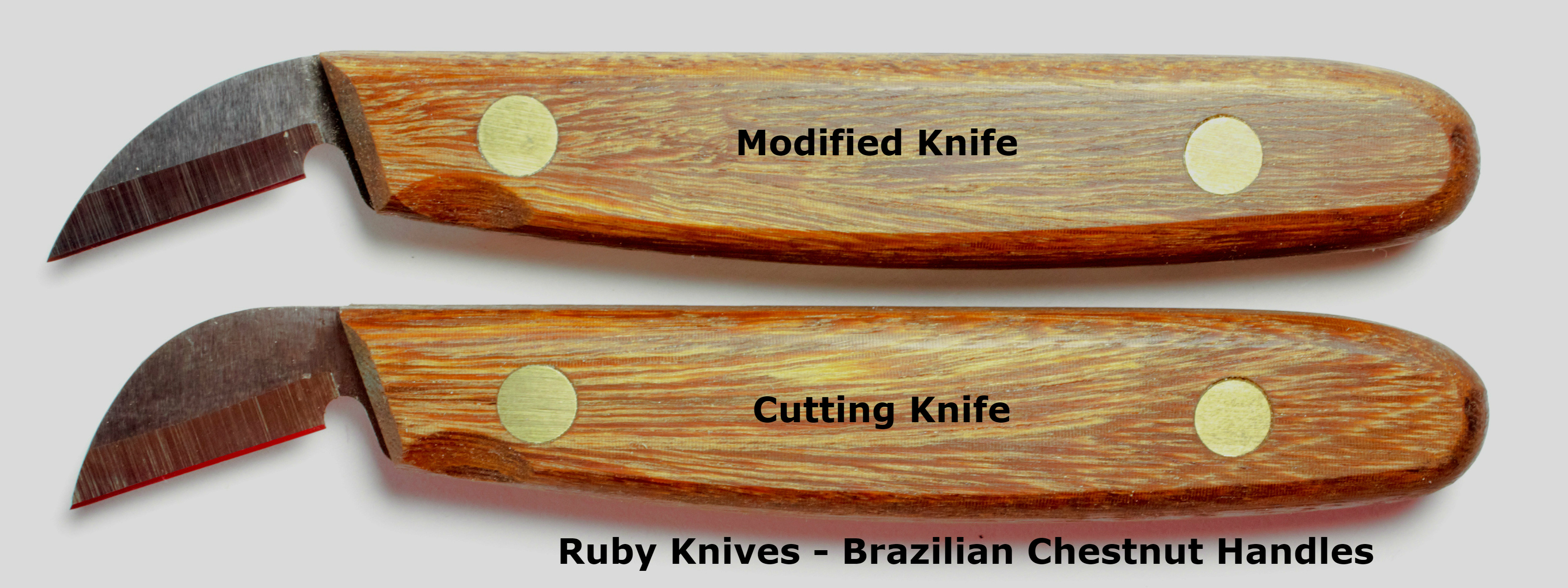 Ruby chip carving knives my chip carving