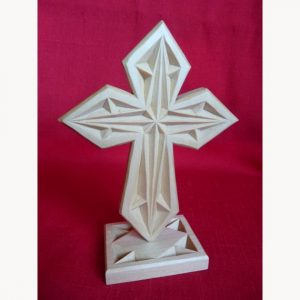 small cross and stand geometric pattern
