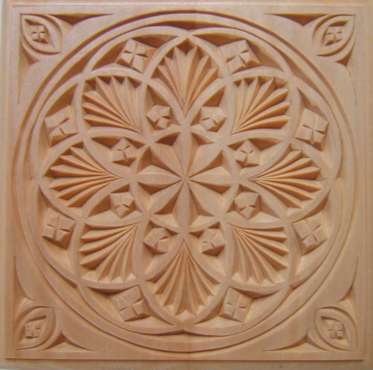 Trivet my chip carving