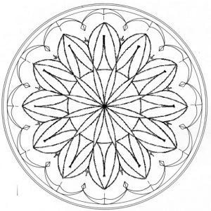 flat plate rosette
