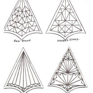 4 christmas ornament patterns