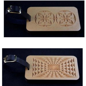 2 luggage tag patterns