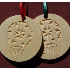 2011 Christmas ornament disc