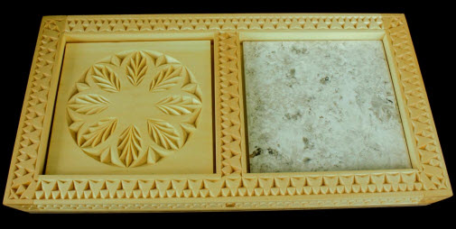 Serving tray, 5 cheese pattern