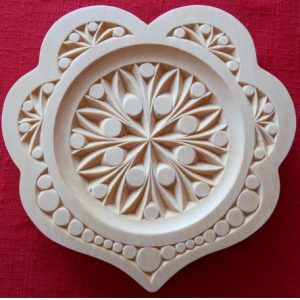 8 inch heart plate contemporary design