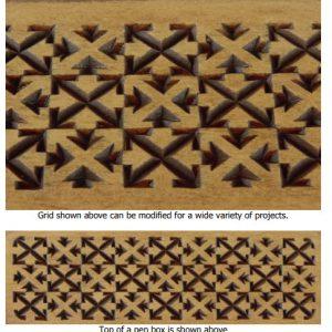 arrows grid pattern