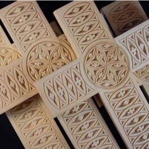 bevcomm 9×14 cross pattern
