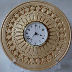 clock plate intergalactic love pattern