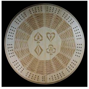 cribbage board tessellation arrows pattern