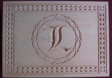 double card box monogram