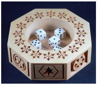 octagon stars pattern