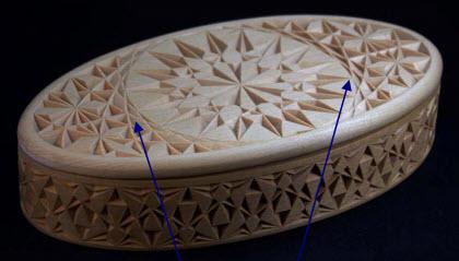 oval box tessellation pattern