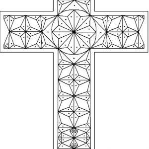plain cross geometric pattern