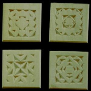 4 refrigerator magnet quilt patterns