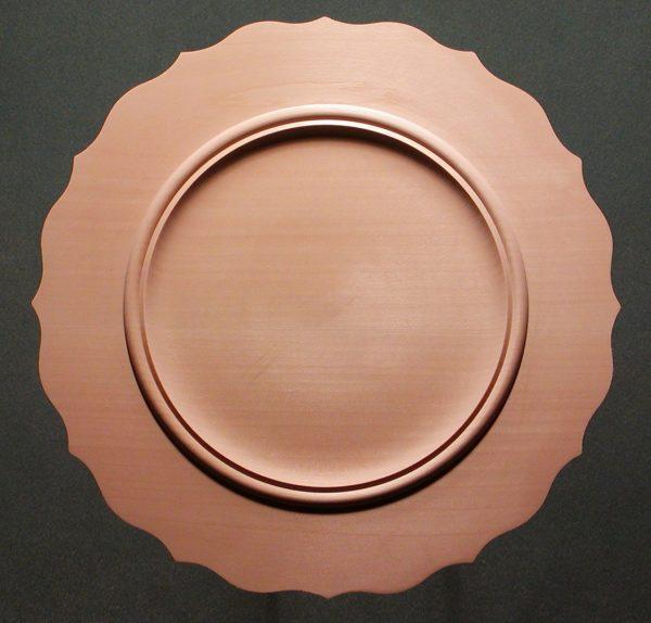 Scalloped Beaded Rim Plate