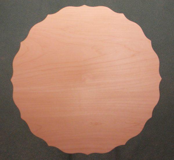 Scalloped Flat Plate