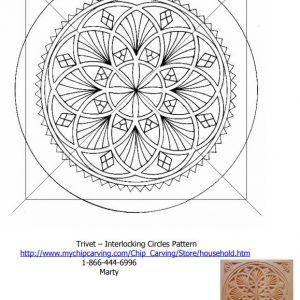 trivet interlocking circles