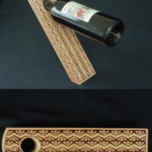 wine bottle holder fundingo pattern