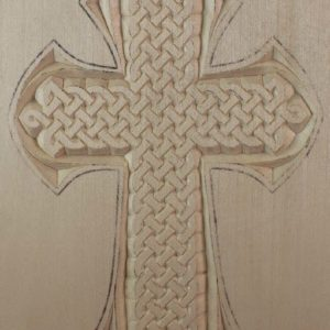 Medium Cross, Celtic Knot pattern