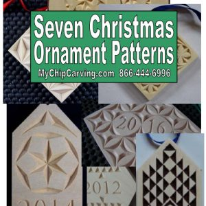 7 Christmas Ornament Patterns Booklet