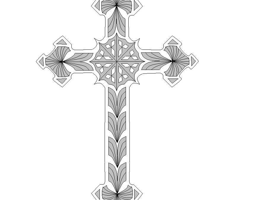 Gothic Cross Medium, FC2020 Pattern – Adobe (pdf)