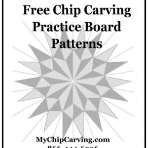 Chip Carving Practice Patterns – Adobe (pdf)