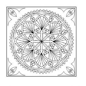 Trivet Interlocking Circles – Adobe (pdf)