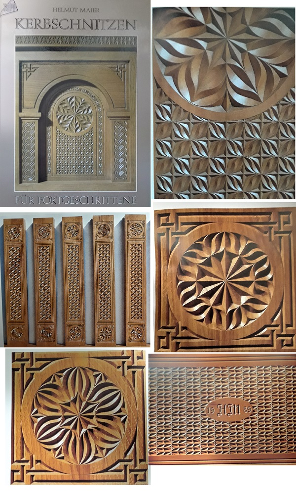 The Ultimate Guide To Wood Carving Pattern Books - Helmut Maier is the author of Kerbschnitzen
