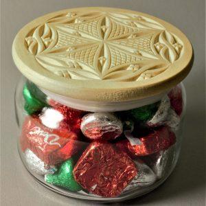 Candy Jar Gothic Swirl Rosette – Adobe (pdf)