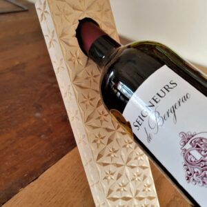Wine Bottle Holder Diamond Pattern – Adobe (pdf)